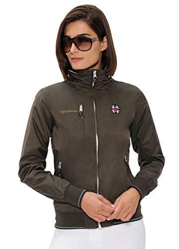SPOOKS Damen Jacke, Kapuzenjacke, Damenjacke, Herbstjacke - Cleo Jacket Olive S