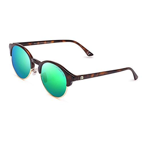 CLANDESTINE Sferico Habana Green by David Bisbal - Damen & Herren Polarisierte Sonnenbrillen