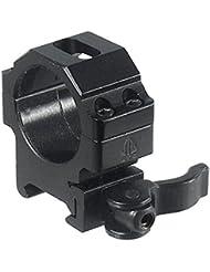 UTG Montageringe Universal Picatinny 30 mm - Riel para armas de airsoft, color negro