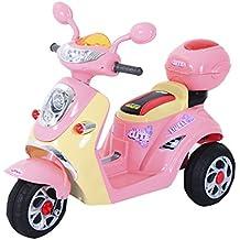 Moto Scooter électrique pour Enfants 6 V env. 3 Km h 3 Roues et c69a5545c9d