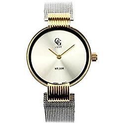 GG Luxe Damen-Armbanduhr Armband Metal Silber Vendôme