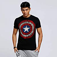Character T-Shirts For Men, Black S