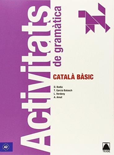 Activitats de gramàtica. Català bàsic