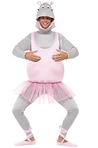 Imagen de hippo ballet disfraz bailarina hipopótamo disfraz ballet hipopótamo disfraz jga tutu animales disfraz soltero disfraz de cuerpo entero zoo divertido carnaval disfraz disfraces animales alternativa