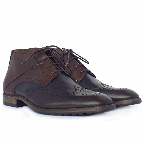 Camel Active Change De Bottes De Style Masculin Como Brogue Multicolore Moka