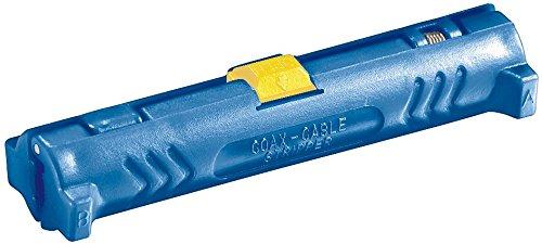 Preisvergleich Produktbild Fixpoint 77136 Koaxial Abisolierwerkzeug zum Abmanteln und Abisolieren aller Gängigen Koaxialkabel