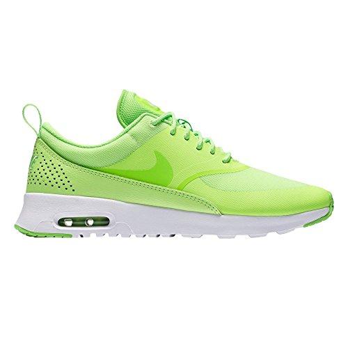 Nike - Air Max Thea, Scarpe Da Corsa da Donna Verde (Verde (Ghost Green / Elctrc Green-White))