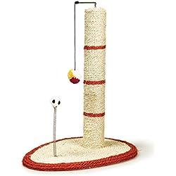 Arquivet 8435117843066 - Rascador poste con rata y bola
