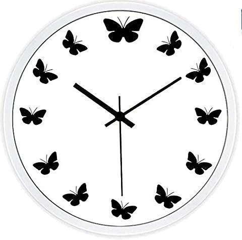 Sucastle Creative wall Clock, mute wall clock 12 inches