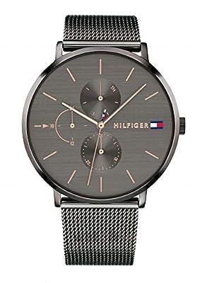 Tommy Hilfiger Reloj Multiesfera para Mujer de Cuarzo con Correa en Acero Inoxidable 1781945