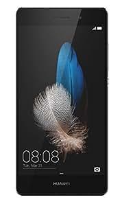 "Huawei P8 Lite Smartphone, Display 5"" IPS, Processore Octa-Core 1.5 GHz, Memoria Interna da 16 GB, 2 GB RAM, Fotocamera 13 MP, monoSIM, Android 5.0, Nero [Italia]"