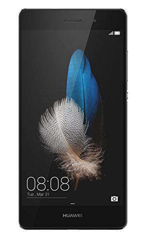 Huawei P8 Lite Smartphone, Display 5' IPS, Processore Octa-Core 1.2 GHz, Memoria Interna da 16 GB, 2 GB RAM, Fotocamera 13 MP, monoSIM, Android 5.0, Nero [Italia]
