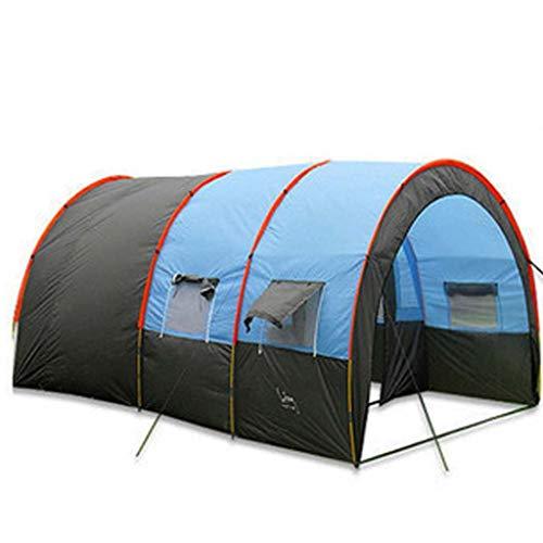 Yiwret Tenda da Campeggio Portatile Impermeabile di 8-10 Persone Che Cammina Tenda all'aperto ad Alta Resistenza di Doppio Oxford