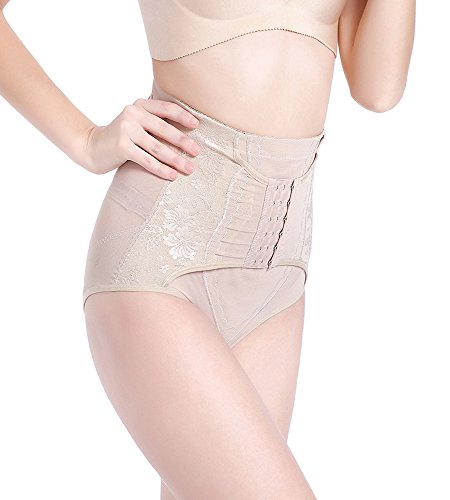 DOODING Body Shaper Dmane Bauch Weg Shapewear Miederpants Taille Cincher Trainer Butt Lifting Erweiterter Boyshorts Panties (Butt-lift-effekt)