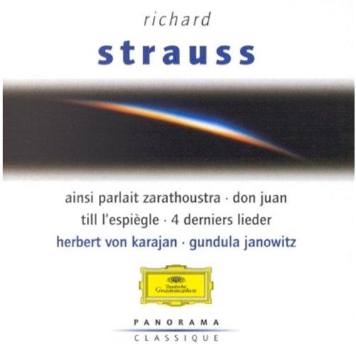 Richard Strauss : Ainsi parlait Zarathoustra - Quatre derniers Lieder - Till Eulenspiegel - Don Juan - Une vie de héros