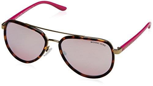 Michael Kors Unisex MK5006 Playa Norte Sonnenbrille, Braun (Havana/Gold 10357V), One size (Herstellergröße: 57)