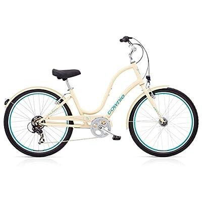 "Electra Townie Original 7D EQ Damen Fahrrad Cream 26"" Beach Cruiser Rad Beleuchtung, 539230"