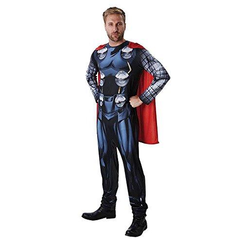 Marvel Classic Herren Kostüm Thor Avengers Karneval Fasching (Thor Herren Kostüme)