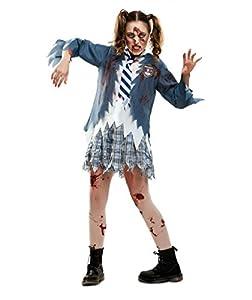 My Other Me Me-201952 Disfraz de estudiante zombie chica para mujer, M-L (Viving Costumes 201952