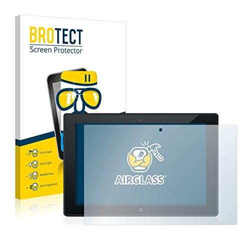 BROTECT AirGlass Premium Glasfolie für Odys Wintab 9 Plus 3G (extrahart, ultradünn, hochtranzparent, Anti-Fingerprint, flexibel)