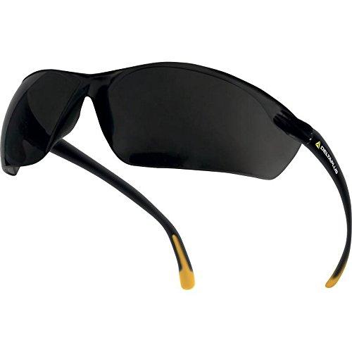 Delta Plus Meia Schutzbrille mit Polycarbonat-Gläsern (Einheitsgröße) (Rauch)