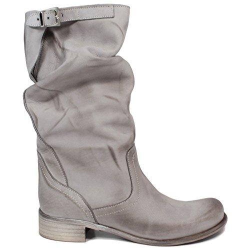 stivali-biker-boots-estivi-meta-polpaccio-donna-in-time-0200-grigio-in-vera-pelle-made-in-italy