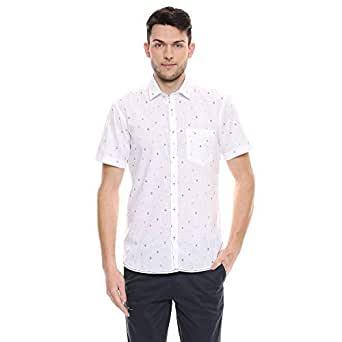 Color Plus Mens Printed Casual Shirt