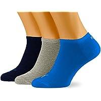 Puma Herren Unisex Sneaker Plain 3p Socken