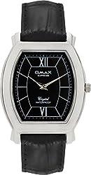 OMAX Analog Black Dial Mens Watch - SS314