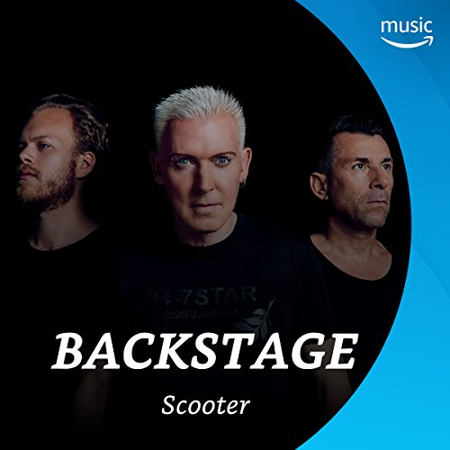 Backstage mit Scooter