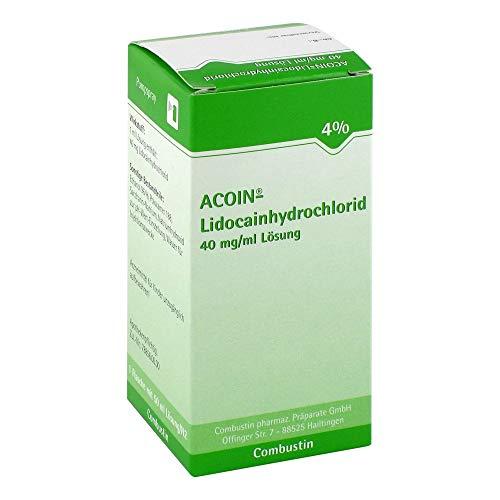 Acoin Lidocainhydrochlorid 40 mg/ml Lösung 50 ml