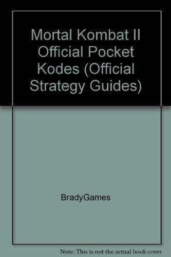 Official Mortal Kombat II Pocket Kodes