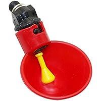 Adhere To Fly 10 Stück Automatisches Huhn Wasserschale Geflügel Trinker Tassen Kunststoff Brunnen (Art 1)