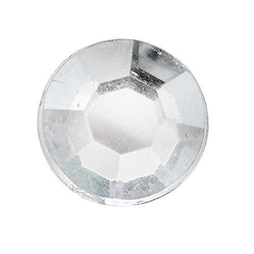club-green-cgp05cl-autoadesivi-sfera-diametro-8-mm-trasparente-foglio-da-48-pezzi-confezione-da-6-fo
