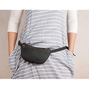 Schwarze Taillenbeutel, Hüfttasche, Bauchtasche, Gürteltasche, nette Bauchtasche, Gürteltasche, Reisetasche