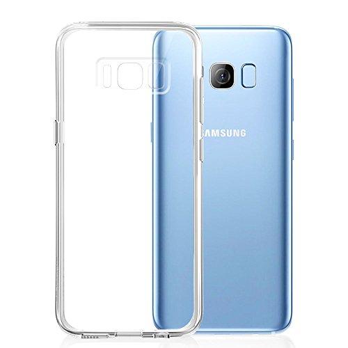 Funda Galaxy S8 Plus, ikalula Carcasa Samsung Galaxy S8 Plus Silicona Anti-Rasguño Anti-Golpes TPU Bumper Protectora Funda para Galaxy S8 Plus - Transparente