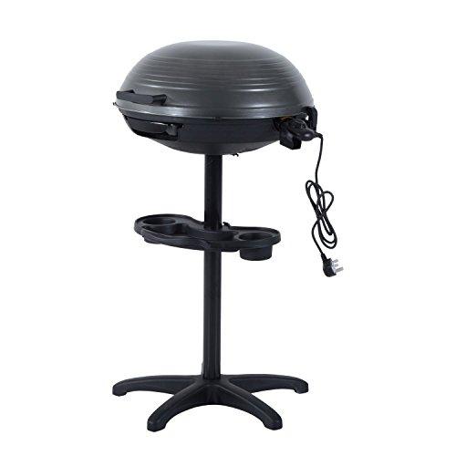 Outsunny Barbecue, schwarz, 54 x 54 x 98 cm, 846-005