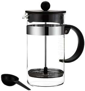 Bodum BISTRO NOUVEAU Kaffeebereiter (French Press System, Spülmaschinengeeignet, 1,0 liters) schwarz