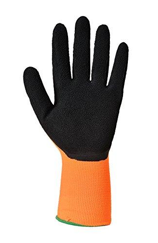 Builders und scafolding, Heimwerker und Garten Hi-Vis Grip Handschuhe, XXL, Orange/Black, 1 -