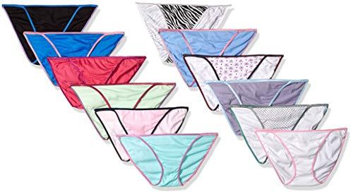 46e97c8fc1 Sexy Basics Womens 12 Pack String Bikini Briefs - -