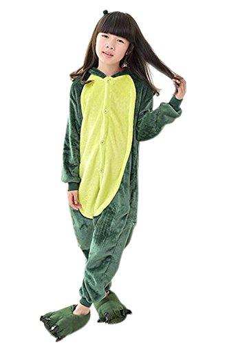 Babyonlinedress Enfant Unisexe Combinaison Pijama Pyjama Grenouillère Onesie Outfit Nuit Anime Animal Costume Cosplay Soirée de Déguisement Fille Garçon Babyonlinedress