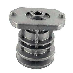 Moyeu de lame pour CASTELGARDEN - MAC GARDA - H: 68mm, alésage central: 25mm, Profondeur du puit: 43mm