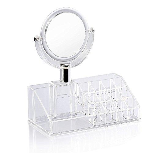 Boîtes de stockage domestique maquillage miroir . 53.5x42.5x48