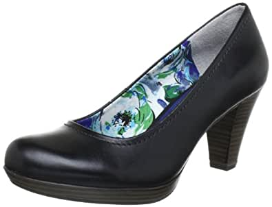 Marco Tozzi 2-2-22444-20, Damen Pumps, Schwarz (BLACK ANTIC 002), EU 36