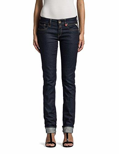 Replay Damen Straight Leg Jeanshose Vicki, Gr. W25/L32 (Herstellergröße: 25), Blau (Denim Blue 7)