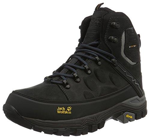 Jack Wolfskin Impulse Pro Texapore O2+ Mid M, Chaussures de Randonnée Hautes Homme Gris (Phantom)