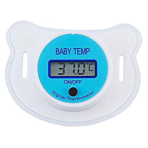 Bebé Chupete Termómetro portátil LCD digital boca