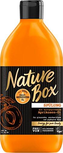 Nature Box Spülung Aprikosen-Öl, 3er Pack (3 x 385 ml)