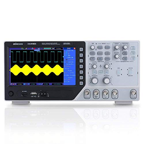 KKmoon DSO4102S Handheld Digital Oszilloskop, 2 Kanäle 200 MHz DDS 500 MSa/s Hohe Effizienz Professional Multimeter Msa-video