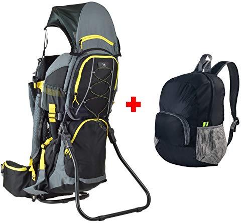 Ultrapower Kindertrage | Wandern | Reise | Tragerucksack | Kinderkraxe | Babytragerucksack | Rückentrage | Baby-Carrier | Quokka Comfort